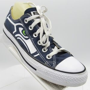 Converse All Star Seahawks Size 8 Sneakers Womens